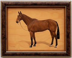 """Horse Portrait """"The Stroller"""" by Frances Mabel Hollams"""