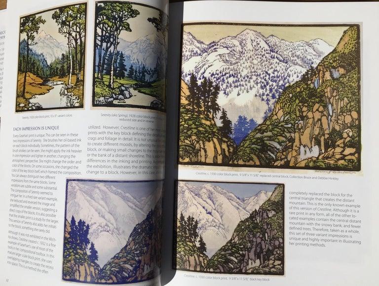 Frances H. Gearhart - New  Exhibition Catalog - Color Block Prints For Sale 1