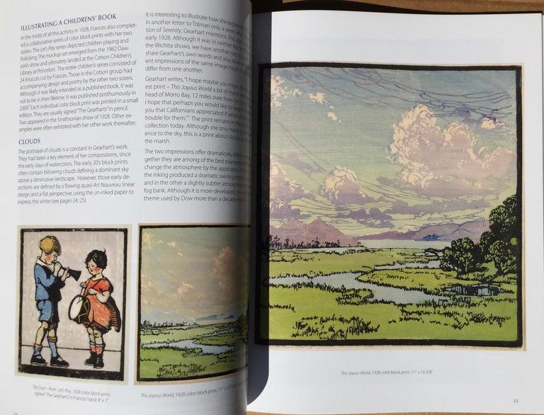 Frances H. Gearhart - New  Exhibition Catalog - Color Block Prints For Sale 4