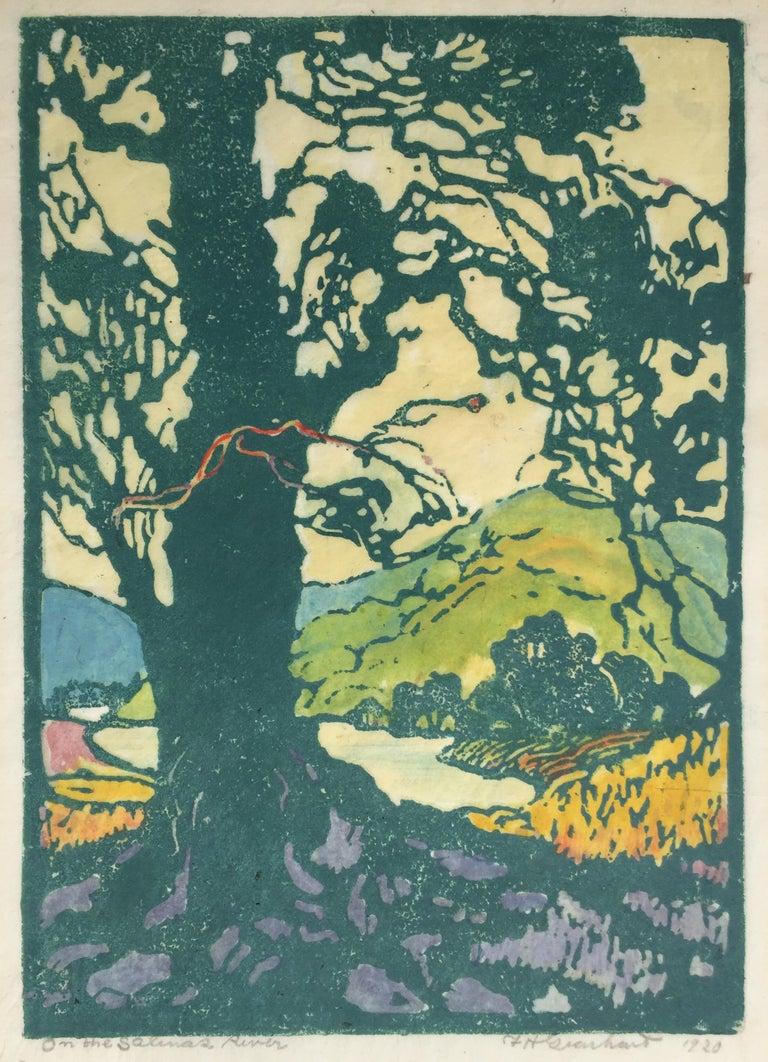 Frances H. Gearhart - New  Exhibition Catalog - Color Block Prints For Sale 6