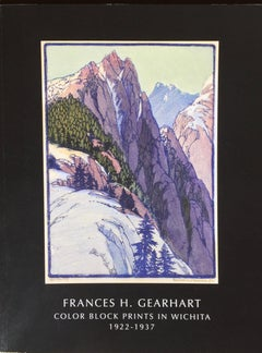 Frances H. Gearhart - New  Exhibition Catalog - Color Block Prints