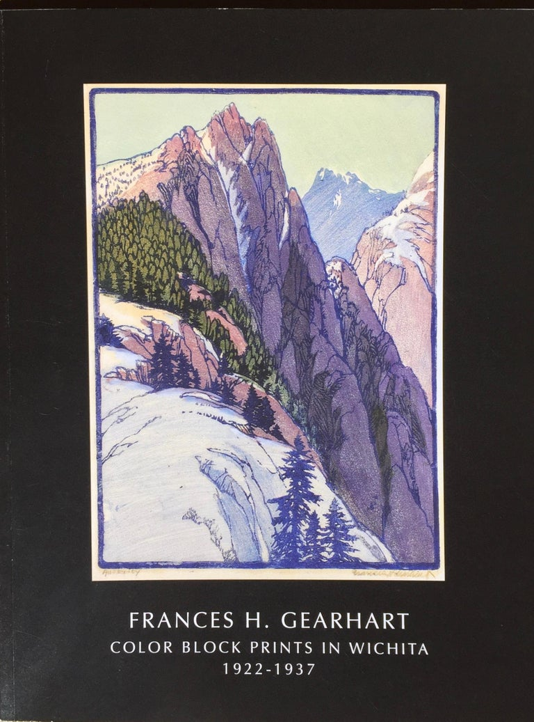 Frances H. Gearhart - New  Exhibition Catalog - Color Block Prints - Black Landscape Print by Frances H. Gearhart