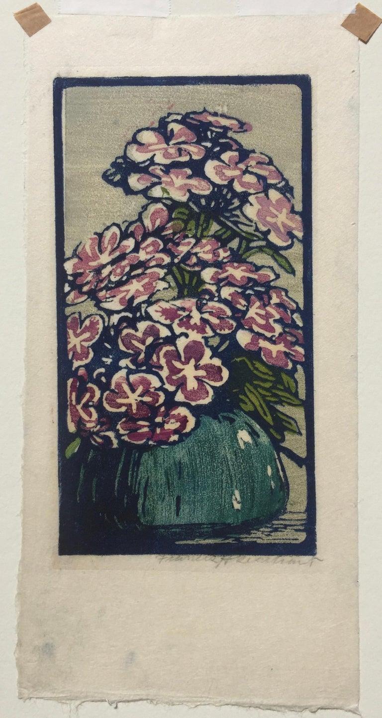 Phlox - Print by Frances H. Gearhart