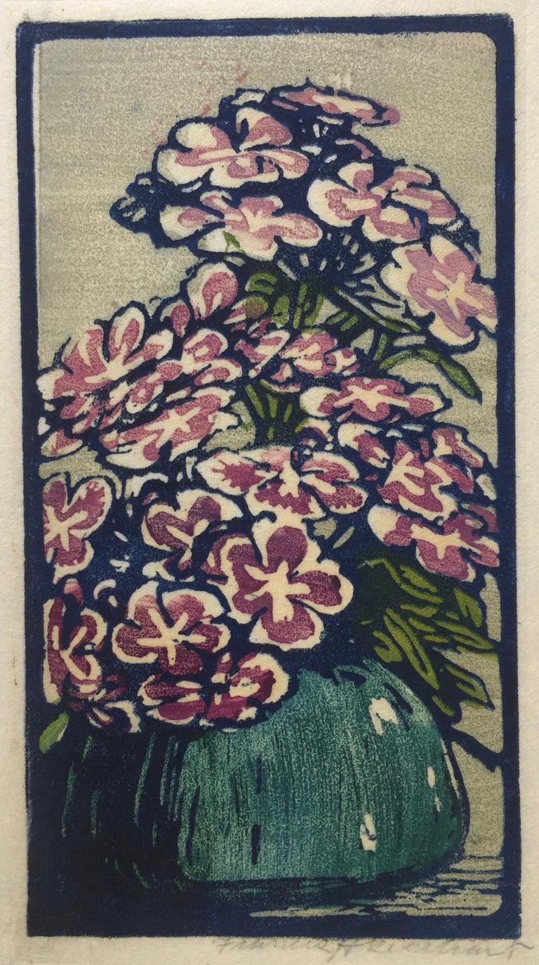 Frances H. Gearhart Landscape Print - Phlox