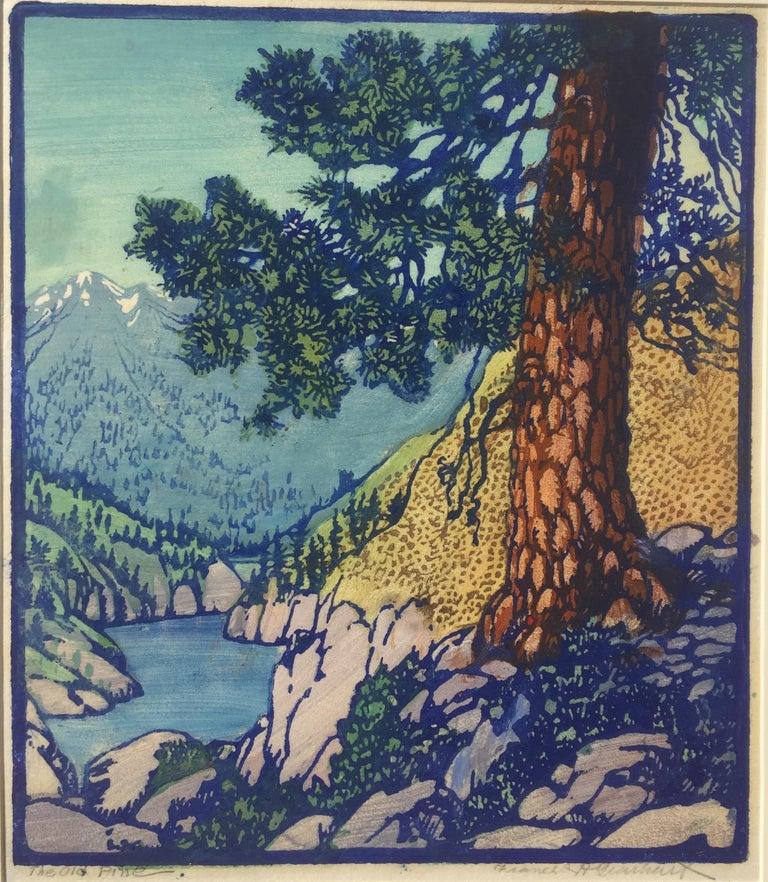 Frances H. Gearhart Landscape Print - The Old Pine