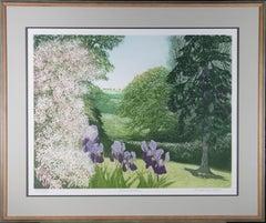 Frances St. Clair Miller (b.1947) - Contemporary Etching, Brobury Gardens