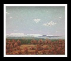 PYRENEES LANDSCAPE  - original acrylic canvas painting-