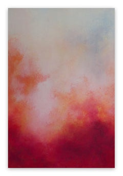 On Fire from within (Abstract painting)