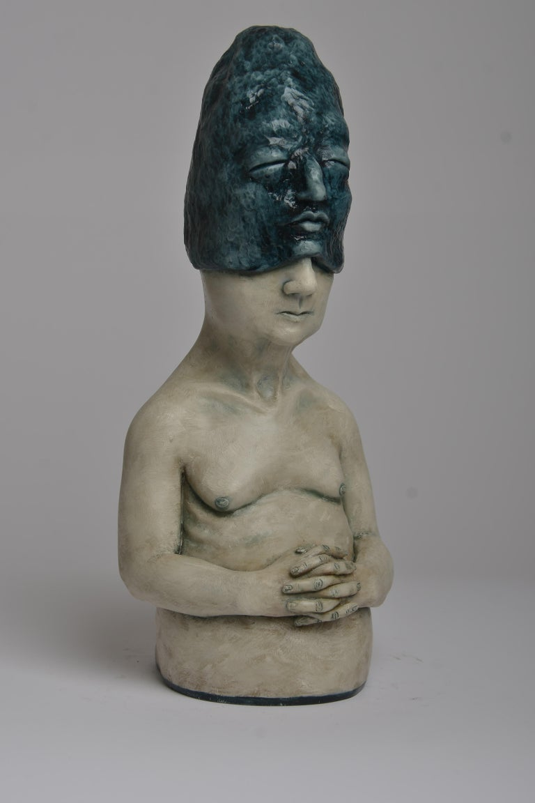 Deer Woman - Bronze - Unique Signed Sculpture - Francesca Dalla Benetta For Sale 1