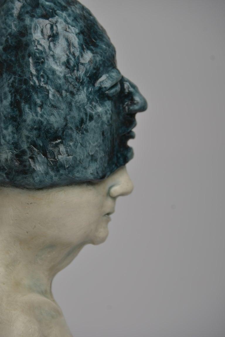 Deer Woman - Bronze - Unique Signed Sculpture - Francesca Dalla Benetta For Sale 2