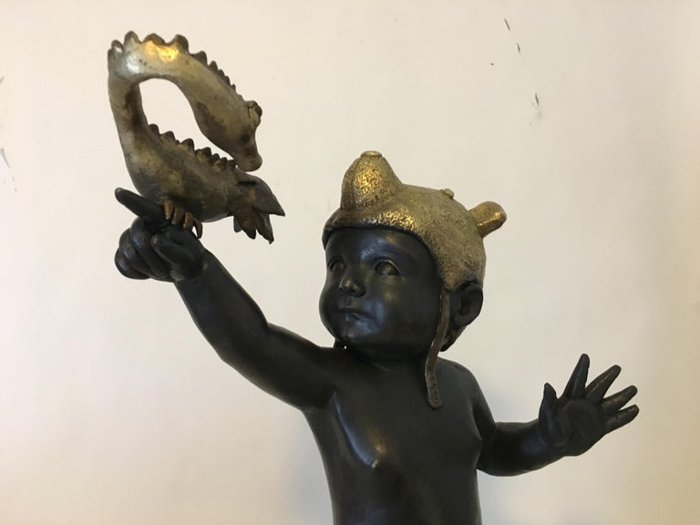 Everything is Possible - Bronze - Signed Sculpture - Francesca Dalla Benetta For Sale 5