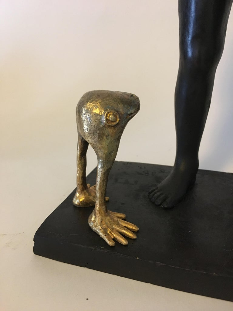 Everything is Possible - Bronze - Signed Sculpture - Francesca Dalla Benetta For Sale 7