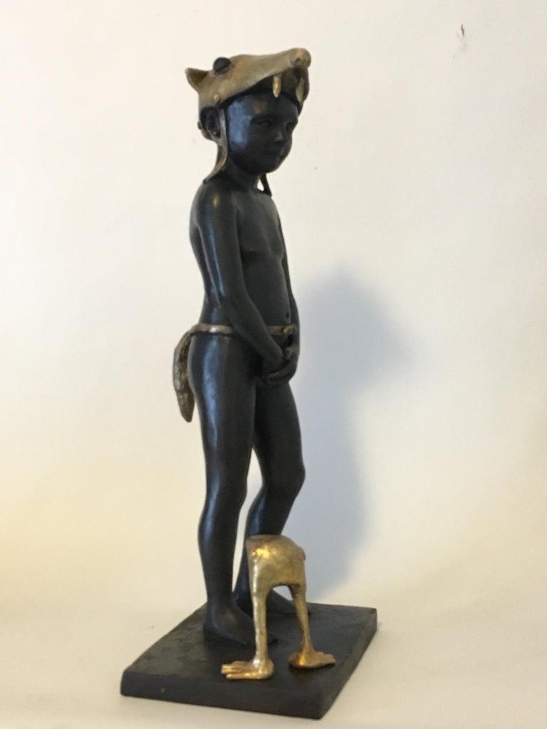 Little Red Riding Hood - Bronze Signed Sculpture - Francesca Dalla Benetta For Sale 8