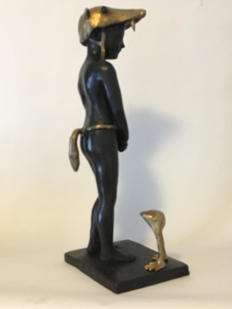 Little Red Riding Hood - Bronze Signed Sculpture - Francesca Dalla Benetta For Sale 4