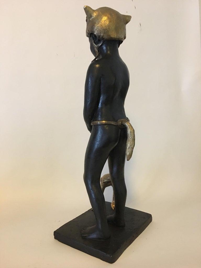 Little Red Riding Hood - Bronze Signed Sculpture - Francesca Dalla Benetta For Sale 5