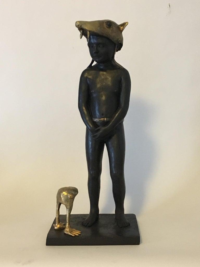Little Red Riding Hood - Bronze Signed Sculpture - Francesca Dalla Benetta For Sale 7