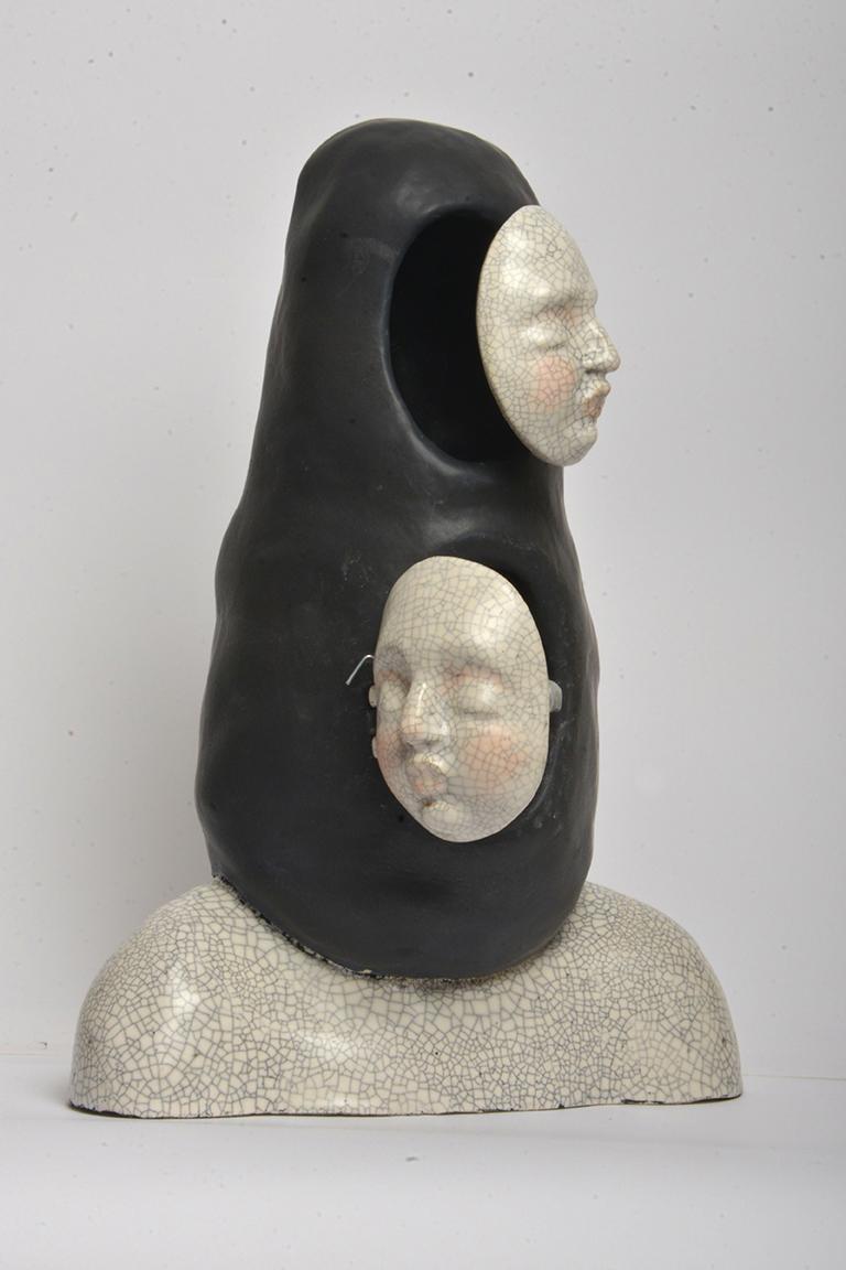 Open Me - Unique Signed Sculpture - Francesca Dalla Benetta