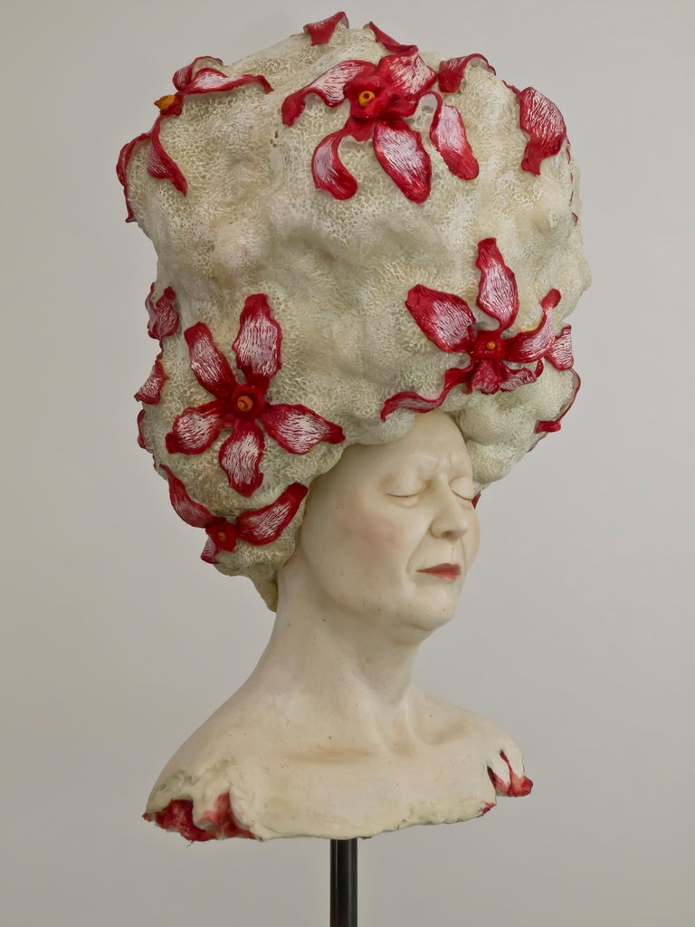 Peace - Unique Signed Sculpture - Francesca Dalla Benetta For Sale 1