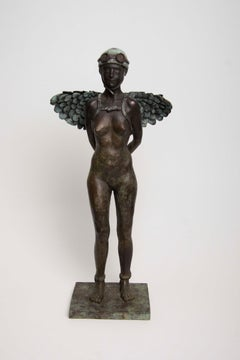 Phanes - Bronze - Unique Signed Sculpture - Francesca Dalla Benetta