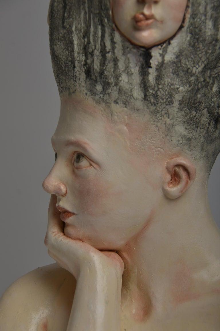 Who am I? - Unique Signed Sculpture - Francesca Dalla Benetta For Sale 8