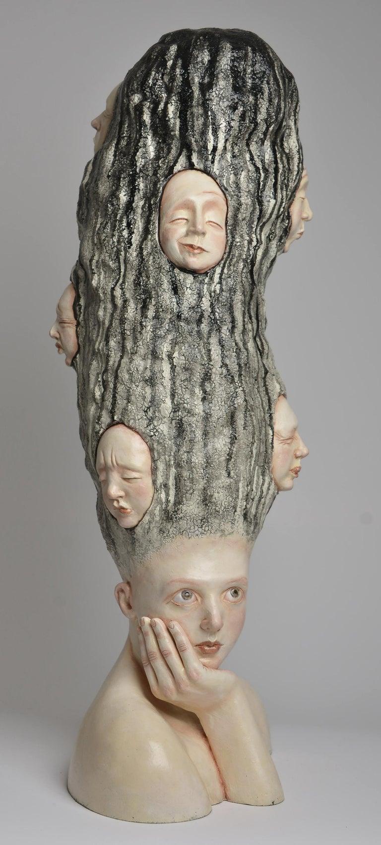 Who am I? - Unique Signed Sculpture - Francesca Dalla Benetta For Sale 1