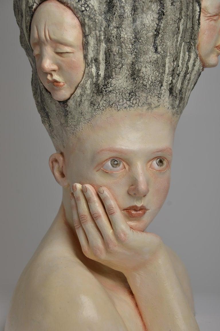 Who am I? - Unique Signed Sculpture - Francesca Dalla Benetta For Sale 2