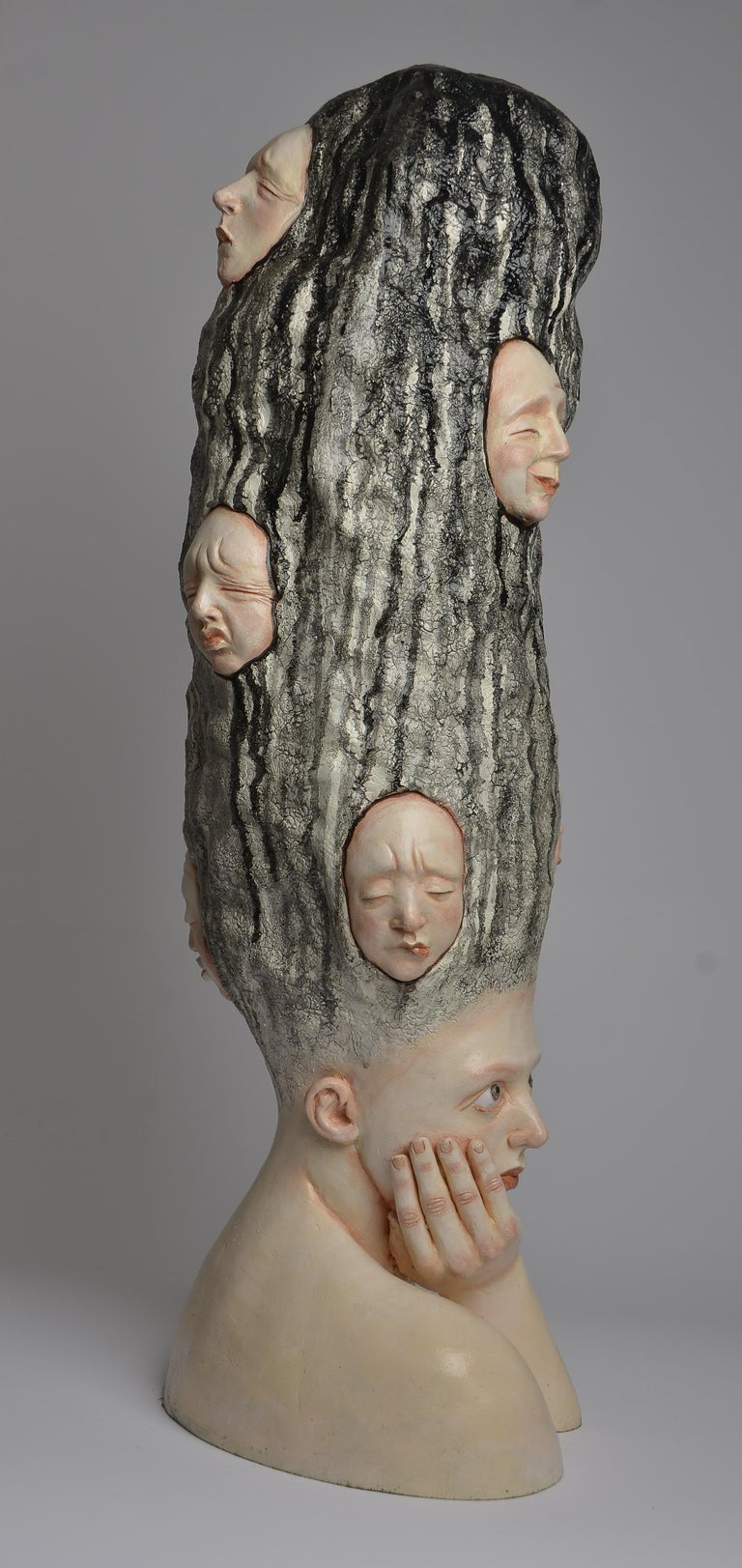 Who am I? - Unique Signed Sculpture - Francesca Dalla Benetta For Sale 4