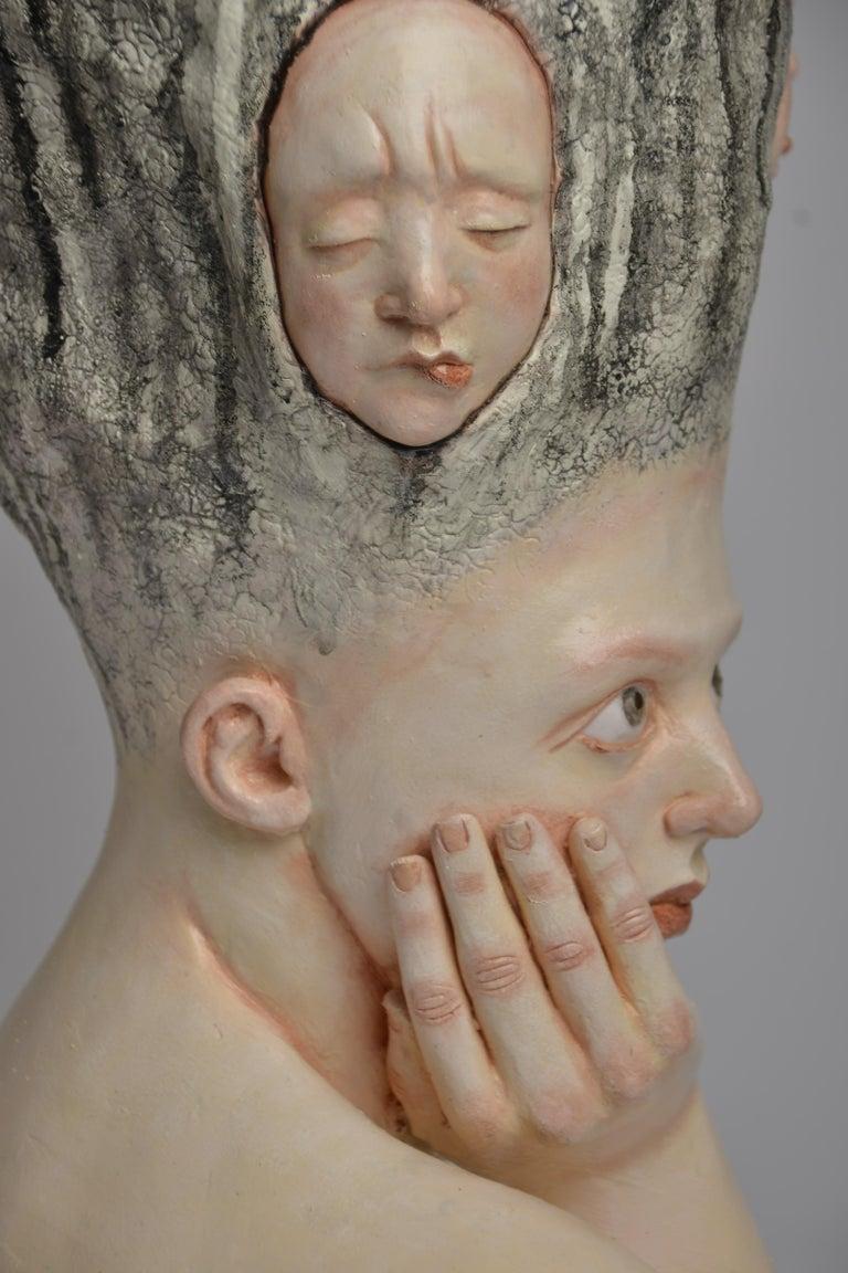 Who am I? - Unique Signed Sculpture - Francesca Dalla Benetta For Sale 6
