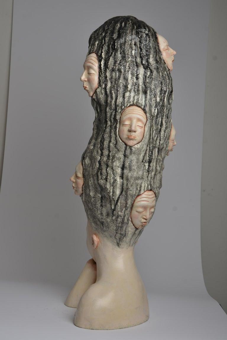 Who am I? - Unique Signed Sculpture - Francesca Dalla Benetta For Sale 7