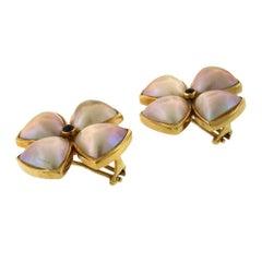 Francesca Di Modrone Mabe Pearl Earrings