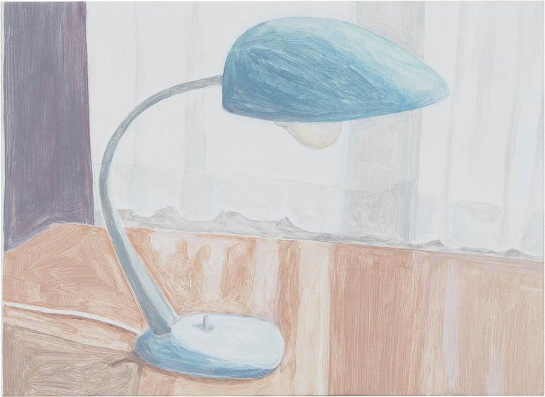 Francesca Fuchs Still-Life Painting - Desk Lamp