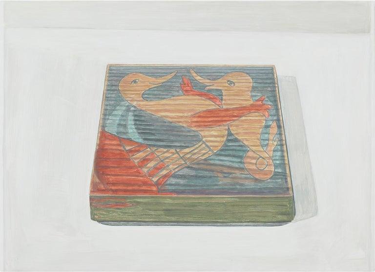 Francesca Fuchs Still-Life Painting - Duck and Dolphin