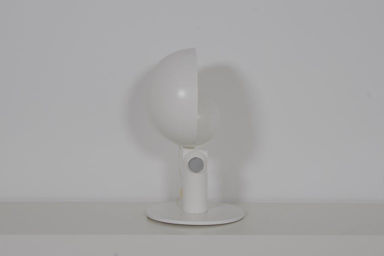 Space Age Francesco Buzzi 'Cuffia' Table Lamp by Bieffeplast, 1969 For Sale