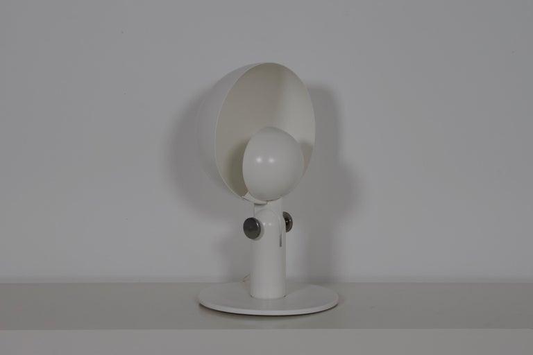 Italian Francesco Buzzi 'Cuffia' Table Lamp by Bieffeplast, 1969 For Sale