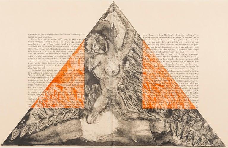 The Departure of the Argonaut (portfolio) - Print by Francesco Clemente