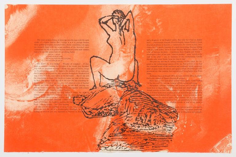 Francesco Clemente Figurative Print - The Departure of the Argonaut (portfolio)