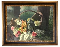 THE LANTERN - Hyper-Realistic  - Italian Still life Oil on Canvas Painting,