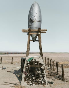 Sunset Boulevard, Bombay Beach, California, #020 - contemporary photography