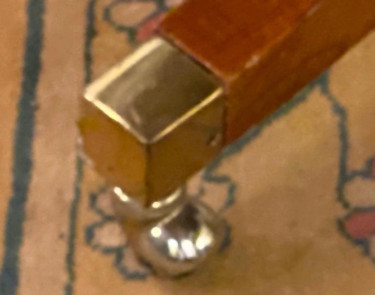 Francesco Molon Regency Style Dining Center Table by Giemme For Sale 2