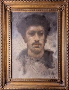 Selfportrait, by Francesco Paolo Michetti