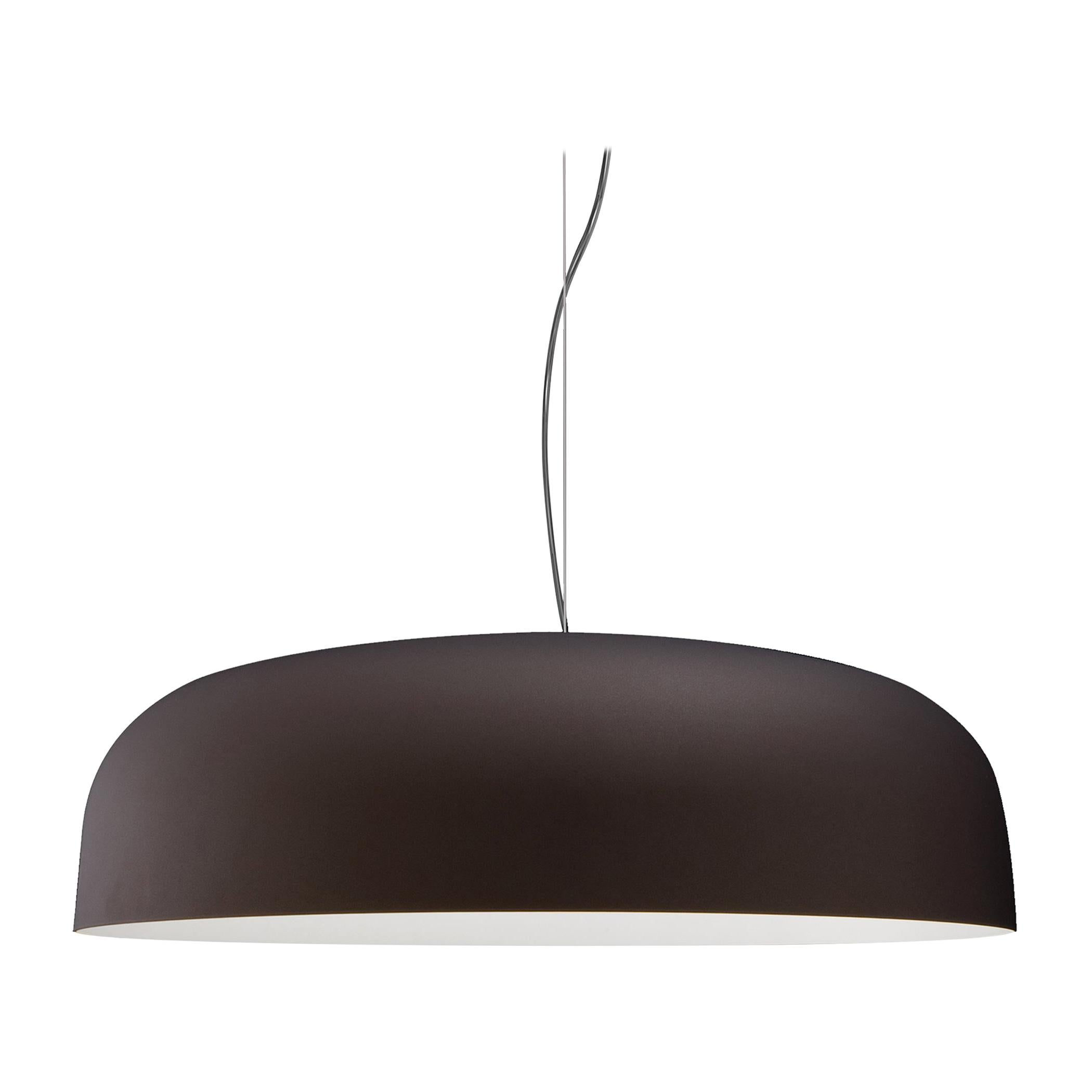 Francesco Rota Suspension Lamp 'Canopy' 422 Bronze and White by Oluce