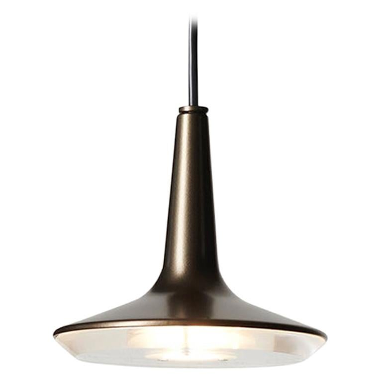 Francesco Rota Suspension Lamp 'Kin' 478 Bronze by Oluce