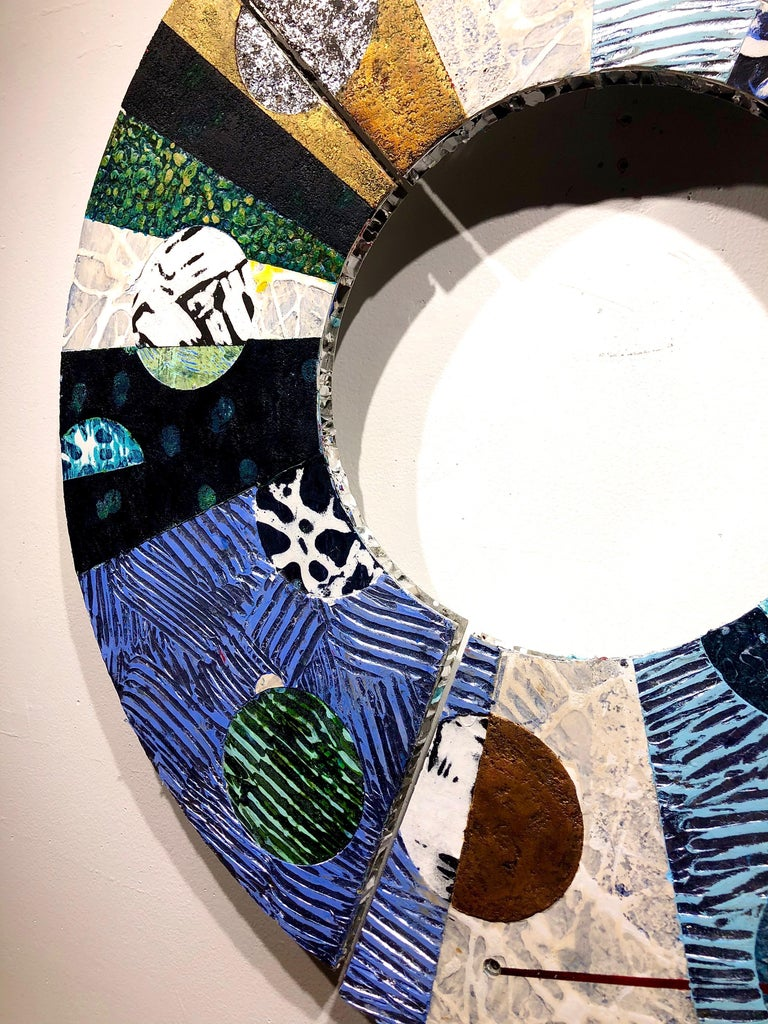 Convex #33 - Painting by Francie Hester