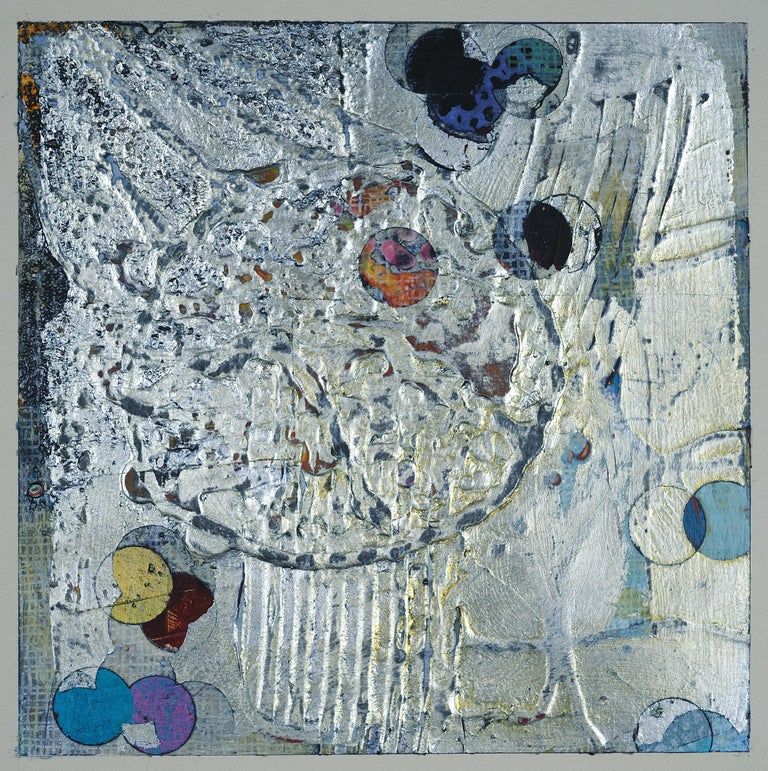 Francie Hester Abstract Painting - Intertwined 20-7