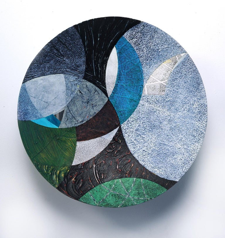 Francie Hester Abstract Painting - Vessel H
