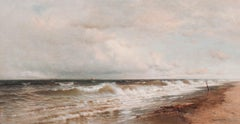 Clearing Off, Marine Landscape by Francis Augustus Silva (1835-1886, American)