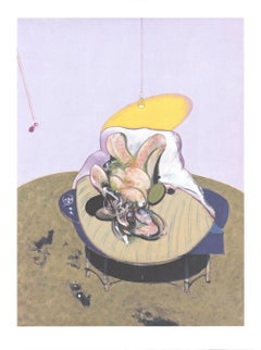 """Francis Bacon-Lying Figure-31.5"""" x 23.5""""-Offset Lithograph-2018-Contemporary"""