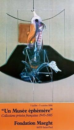 Le Boeuf, 1986 Original Foundation Maeght Exhibition Offset Lithograph