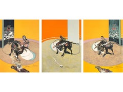 Miroir de la Tauromachie -- Set of three, Tryptich, Lithographs by Francis Bacon