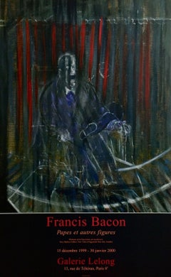 Pope Innocent X, 1999 Event Lithograph, Francis Bacon